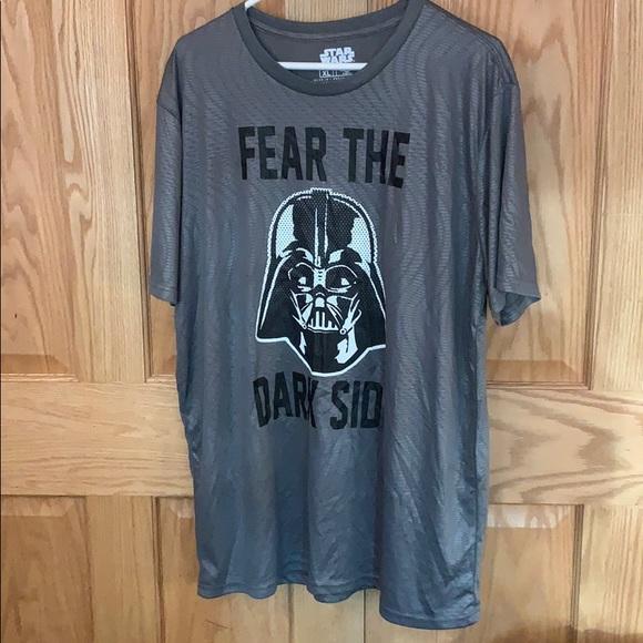 The Empire Kicks Back 420 T-shirt XXL Grey Darth Vader Star Wars Strikes